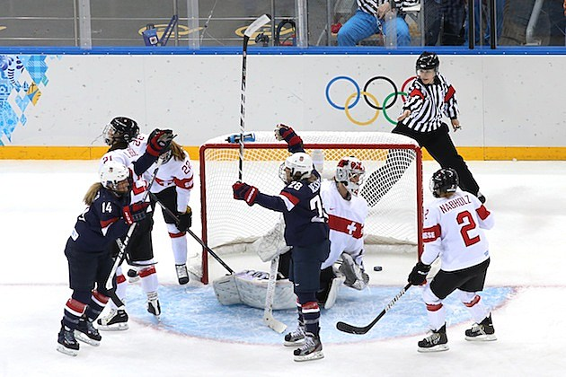 Ice Hockey - Winter Olympics Day 3 - United States v Switzerland