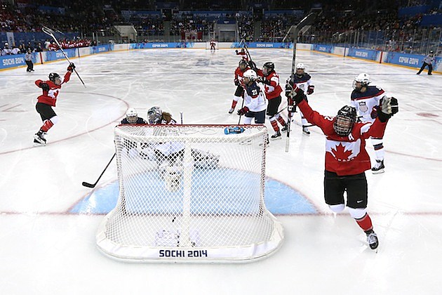 Ice Hockey - Winter Olympics Day 5 - Canada v United States