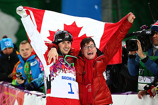 Alex and Frederic Bilodeau