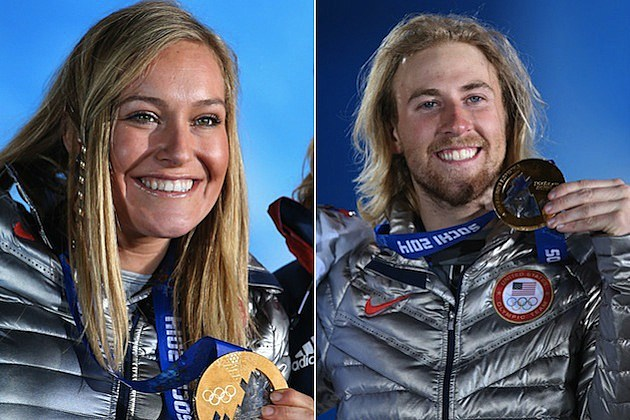 Sage Kotsenburg and Jamie Anderson