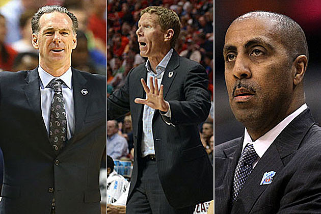 Jamie Dixon, Mark Few, Lorenzo Romar