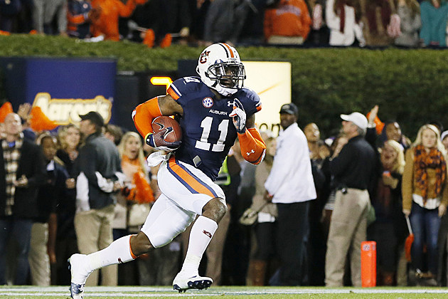 Chris Davis Iron Bowl 2013 touchdown