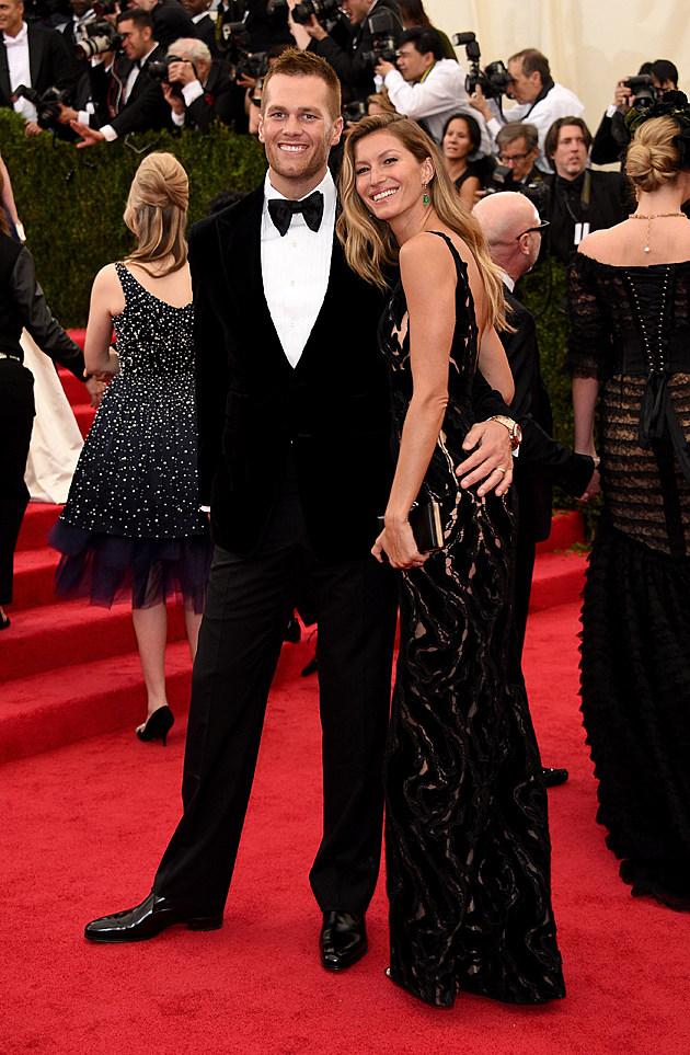 Tom Brady Gisele Bundchen red carpet