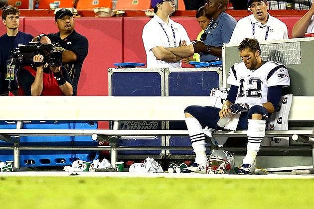 Tom Brady Sad