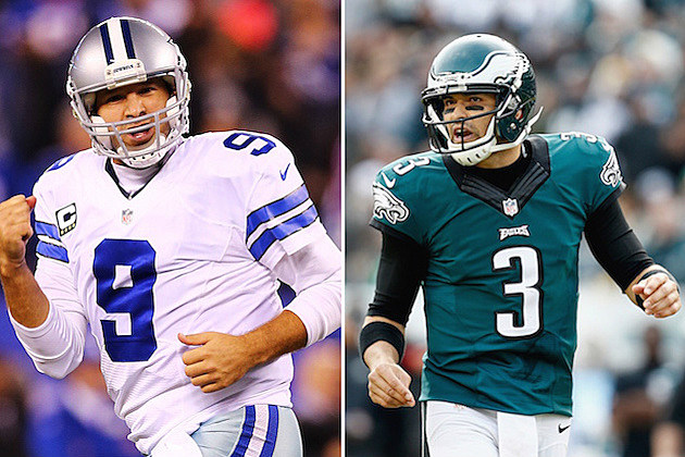 Tony Romo Mark Sanchez