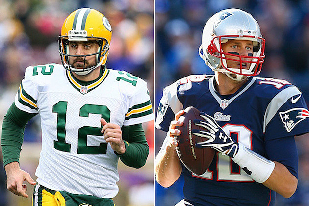 Aaron Rodgers Tom Brady