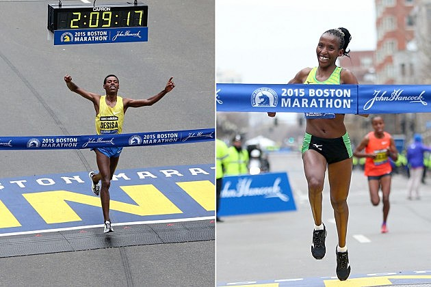 2015 Boston Marathon winners