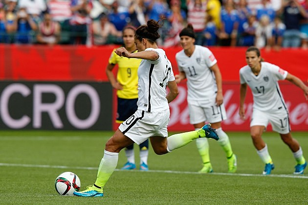 Carli Lloyd, Round of 16 - FIFA Women's World Cup 2015