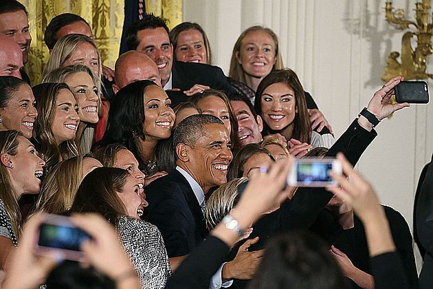 President Obama, U.S. Women's National Soccer Team