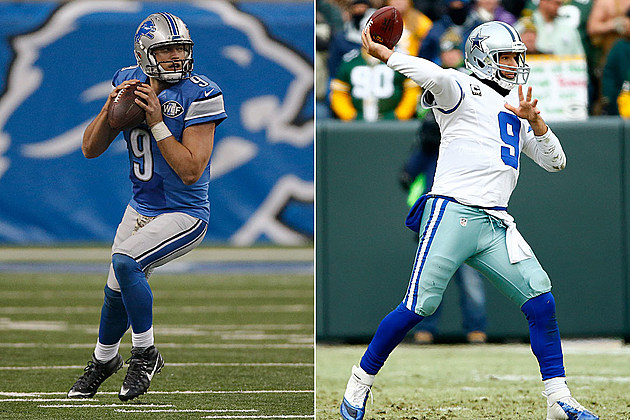 Matthew Stafford, Tony Romo