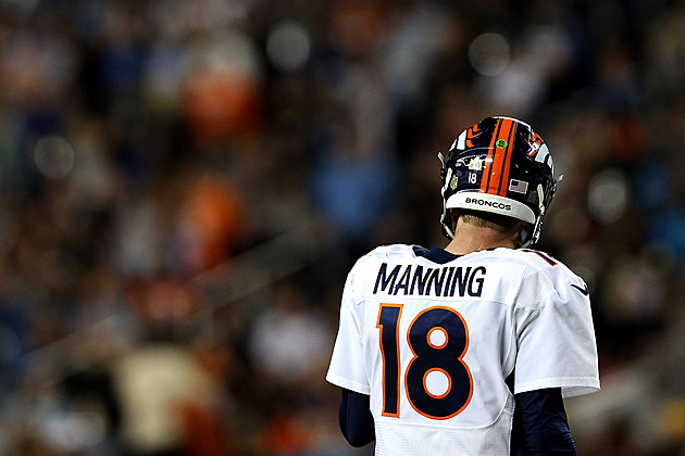Peyton Manning in Super Bowl 50
