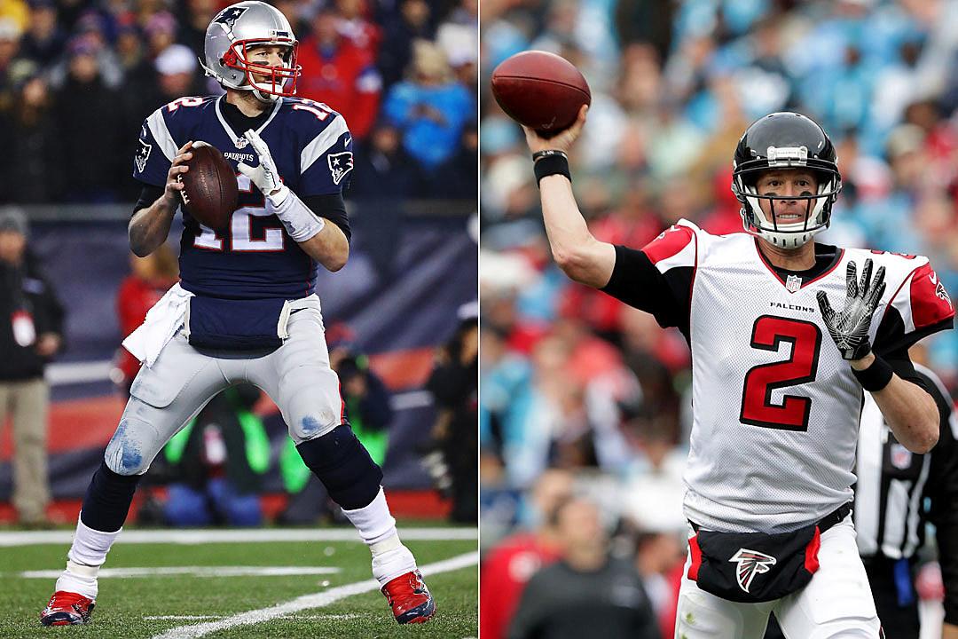 Tom Brady, Matt Ryan