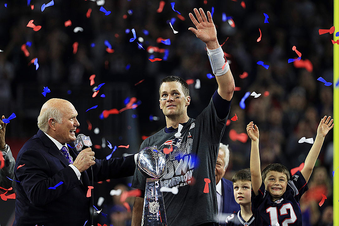 Patriots Compare Comeback Super Bowl Win to Trump's Presidential Race