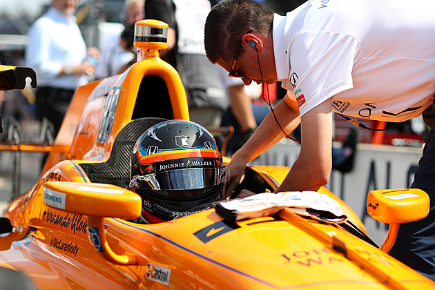 101st Indianapolis 500 - Carb Day