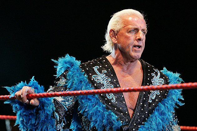 Ric Flair in a coma